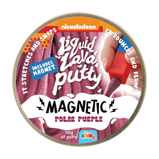 Nickelodeon Liquid Lava Putty Magnetic Polar Purple