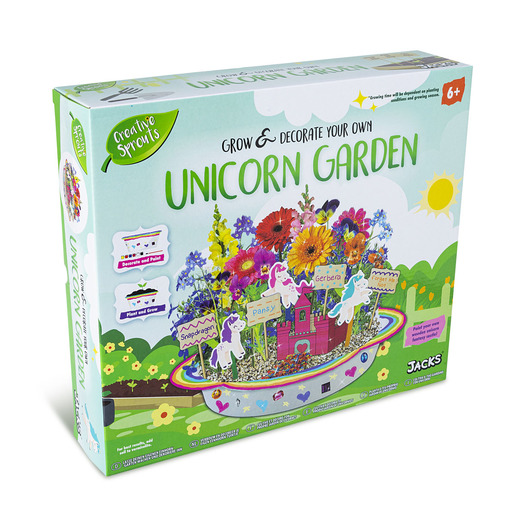 Jacks Grow&Decorate Your Own Unicorn Garden