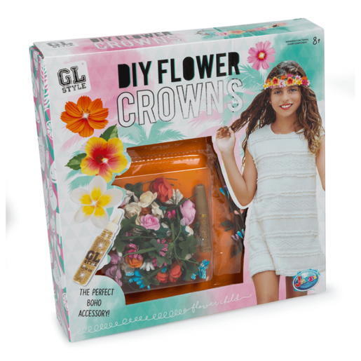 GL Style DIY Flower Crowns Kit from TheToyShop