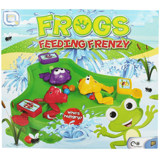 Frog Feeding Frenzy Game