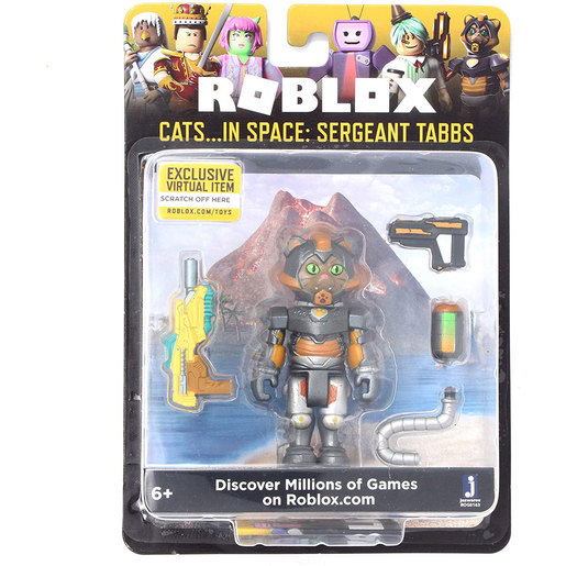 ROBLOX Celebrity Core Figure - Cats… In Space: Sergeant Tabbs