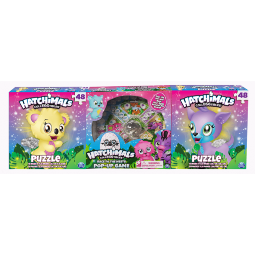 Hatchimals 3 Pack Games Bundle