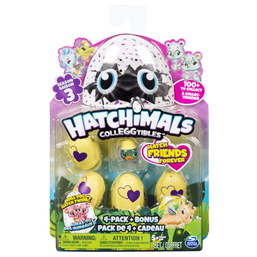 Hatchimals CollEGGtibles Season 3 - 4 Pack And Surprise