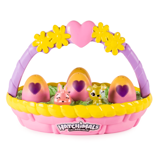 Hatchimals CollEGGtibles – Spring Basket with 6 Hatchimals CollEGGtibles (Styles vary)
