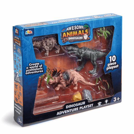 Awesome Animals Tyrannosaurus Rex Dinosaur Adventure Playset