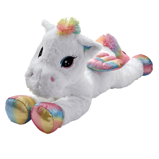 Snuggle Buddies 80cm Soft Dreamy Friend - Sparkle Spirit Pegasus