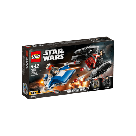LEGO Star Wars A-Wingâ?¢ vs. TIE Silencerâ?¢ Microfighters - 75196