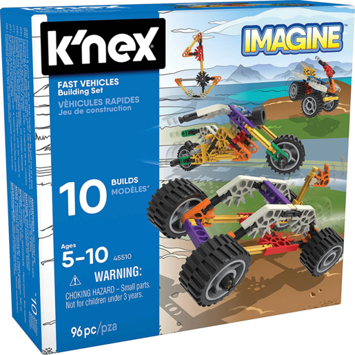 K'NEX First Vehicles Beginners Building Set