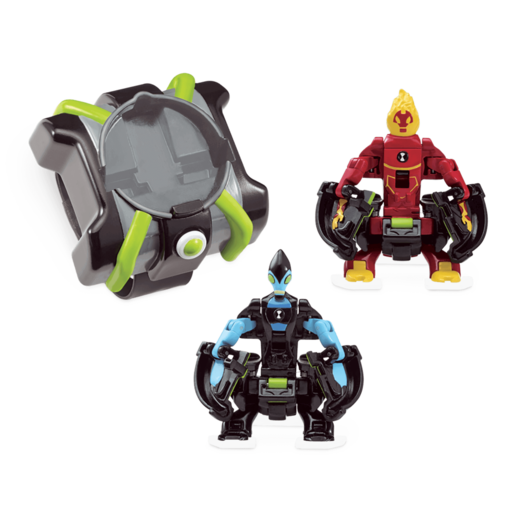 Ben 10 Omni Launch Battle Figures - Fourarms and Wildvine