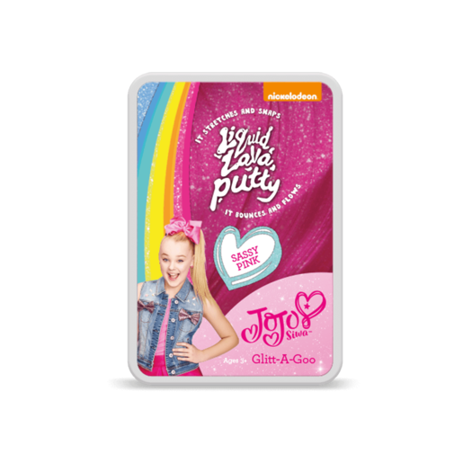 JoJo Siwa Liquid Lava Putty - Sassy Pink