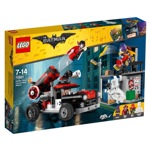 LEGO The Batman Movie Harley Quinn Cannonball Attack - 70921