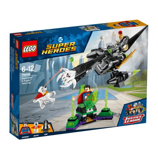 LEGO Super Heroes Justice League Superman & Krypto Team-Up - 76096