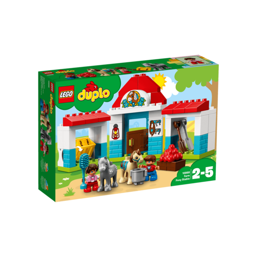 LEGO Duplo Farm Pony Stable - 10868
