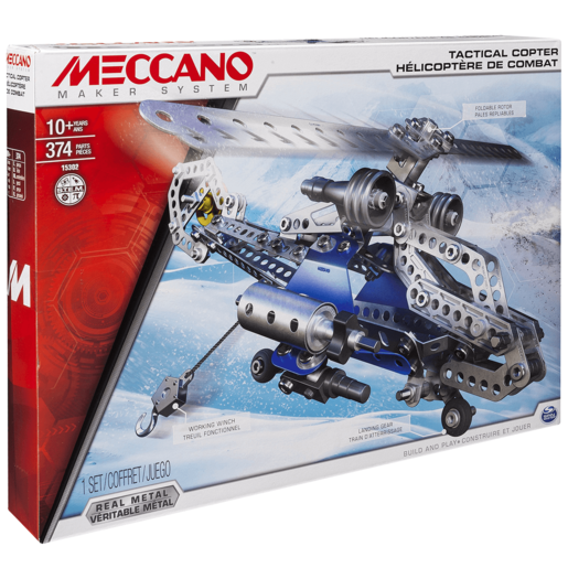 Meccano Tactical Copter Model Maker Set
