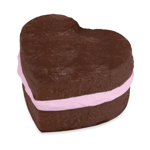 Softn Slo Squishies Series 1 Original Sweet Shop - Brown Heart