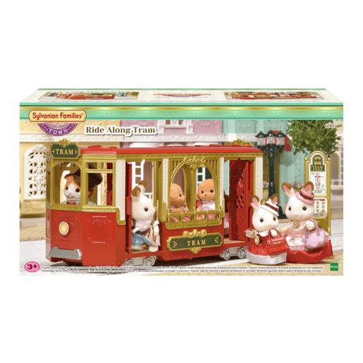Sylvanian Families Ride Along Tram from TheToyShop