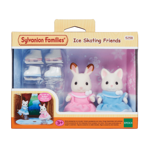 Sylvanian Families Ice Skating Friends