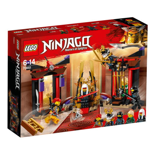 LEGO Ninjago Throne Room Showdown - 70651