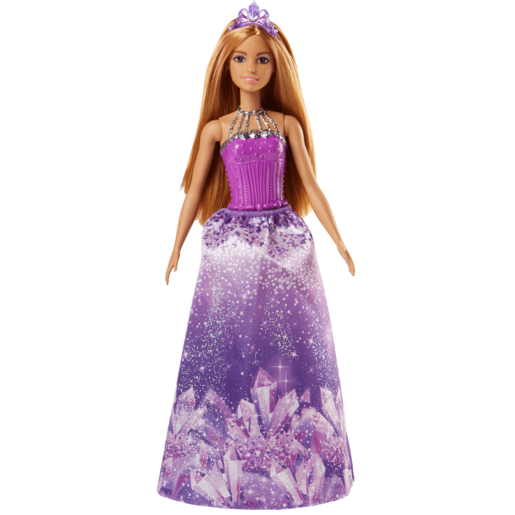 Barbie Dreamtopia Princess Doll   Purple Crystal