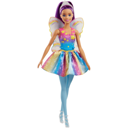 Barbie Fairy Doll - Purple Hair