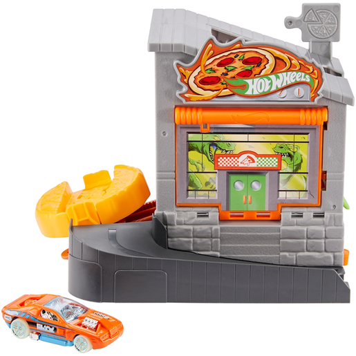 Hot Wheels City Downtown Pizza Toss
