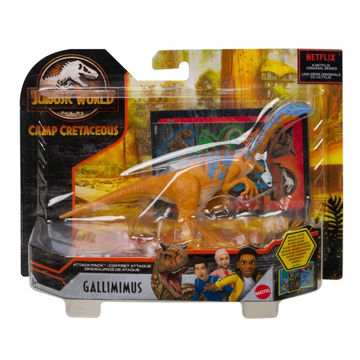 Jurassic World Dino Rivals Attack Pack Figure - Gallimimus