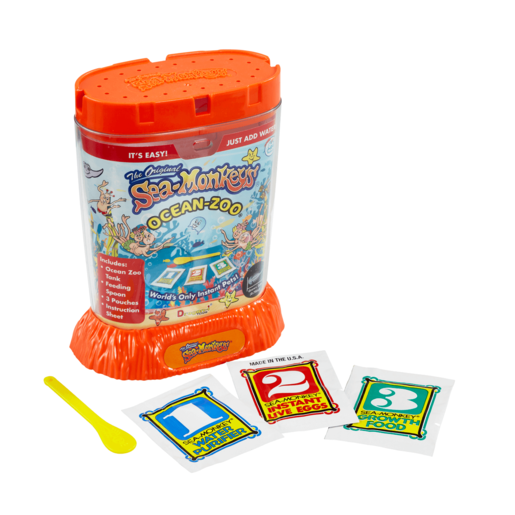 Sea Monkeys Ocean Zoo (Colours Vary)