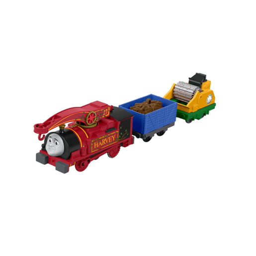Fisher-Price Thomas & Friends TrackMaster Helpful Harvey