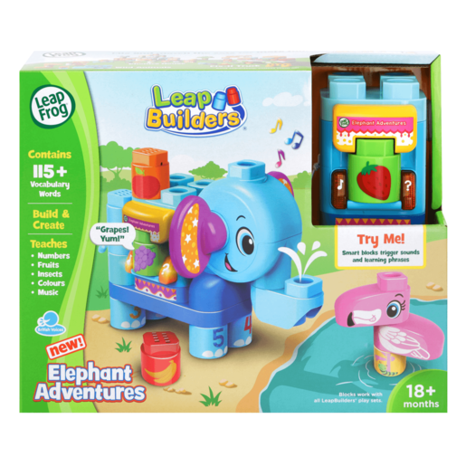 LeapFrog LeapBuilders - Elephant Adventure