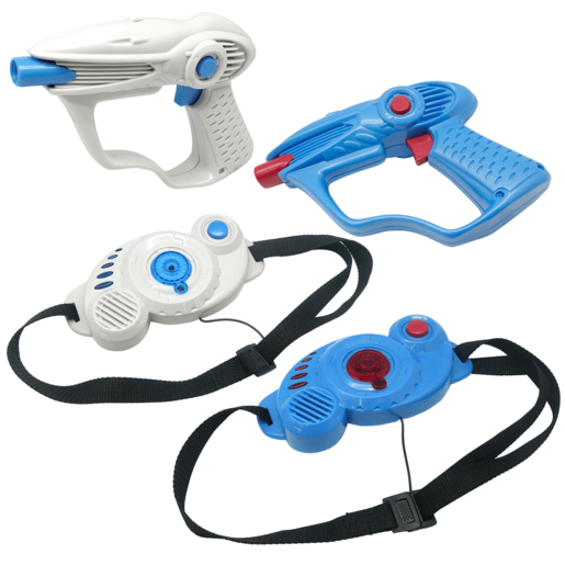 Laser Command Laser Pursuit Game 2 Player Set