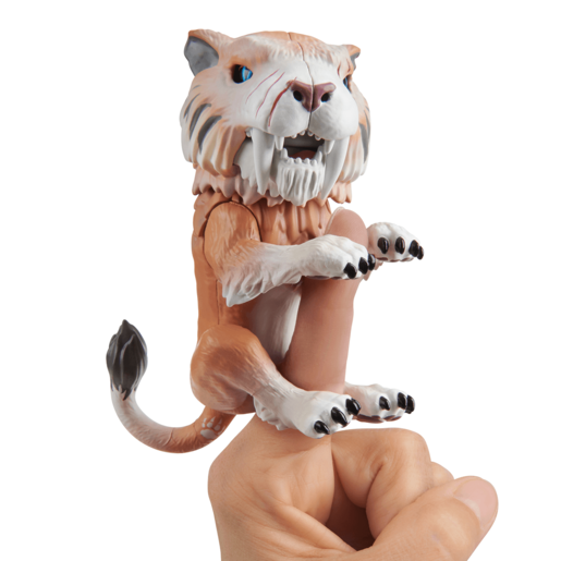 Untamed Sabre Tooth Tiger by Fingerlings - Bonesaw (Bronze)