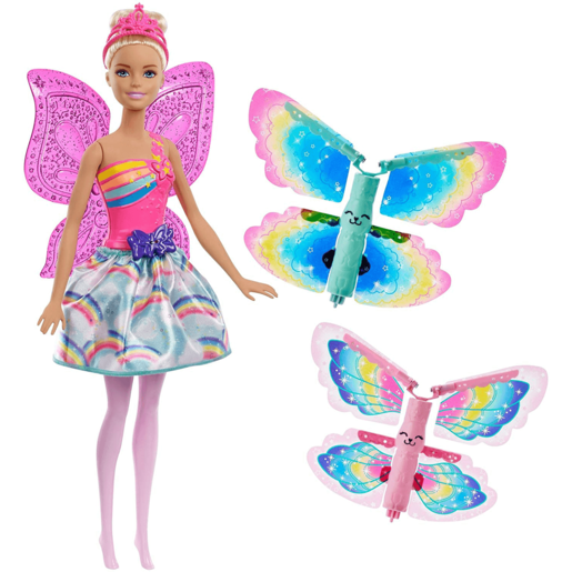 Barbie Kingdom Dreamtopia Rainbow Cove - Flying Wings Fairy Doll