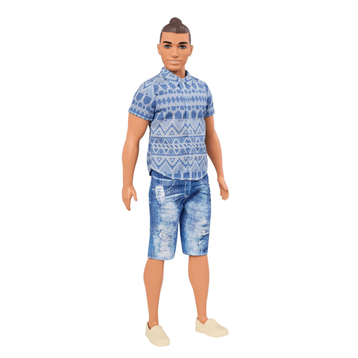 Barbie Fashionistas Ken Doll - Distressed Denim Outfit