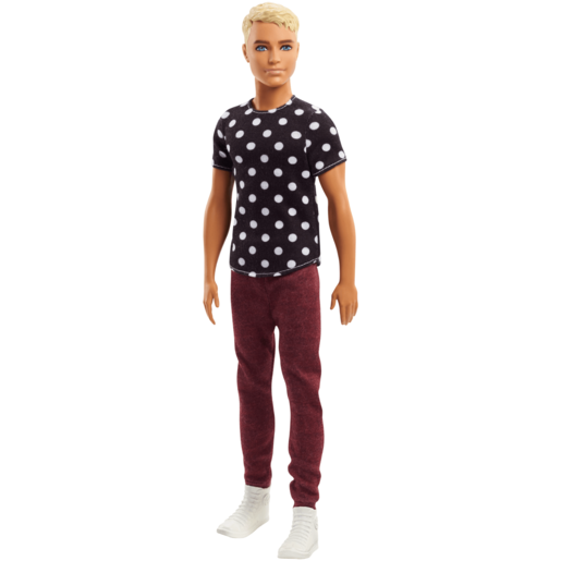Barbie Fashionistas Ken Doll - Black & White Outfit
