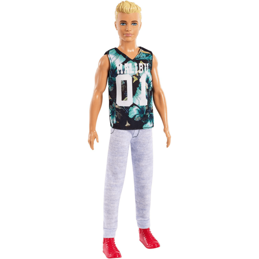 Barbie Fashionistas Ken Doll - Tropical Malibu Top