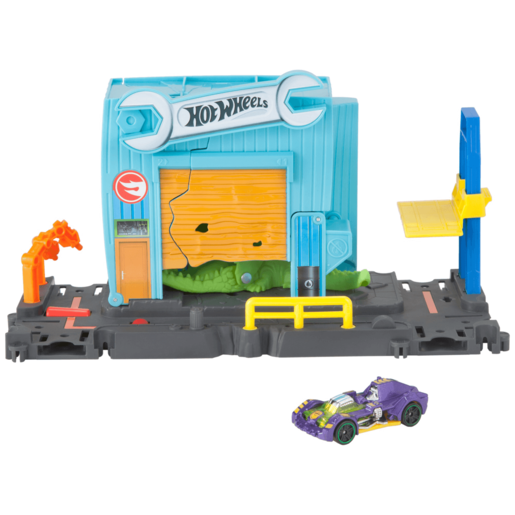 Hot Wheels City Downtown Playset -Gator Garage Attack