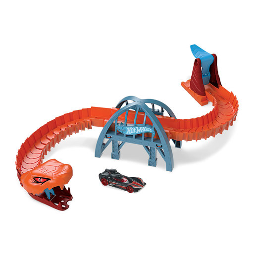 Hot Wheels City Viper Bridge Attack Playset
