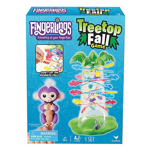 Fingerlings Treetop Fall Game