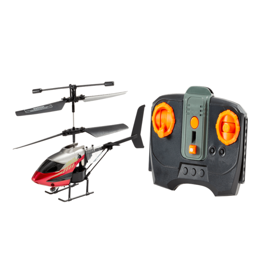 Armor Hawk Stable Flight Remote Control Helicopter - Red
