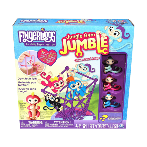 Fingerlings Jungle Gym Jumble Game