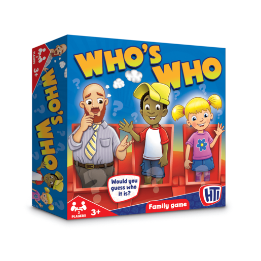 Who's Who Family Game
