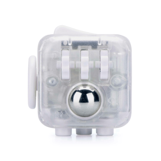 Fidget Cube Series 4 - Clear White