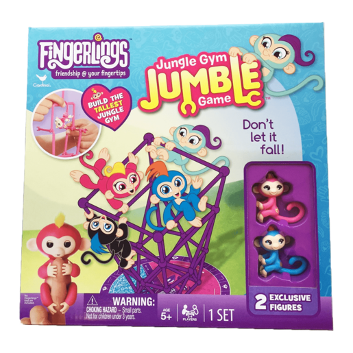 Fingerlings Jungle Gym Jumble Game with Two Exclusive Figures