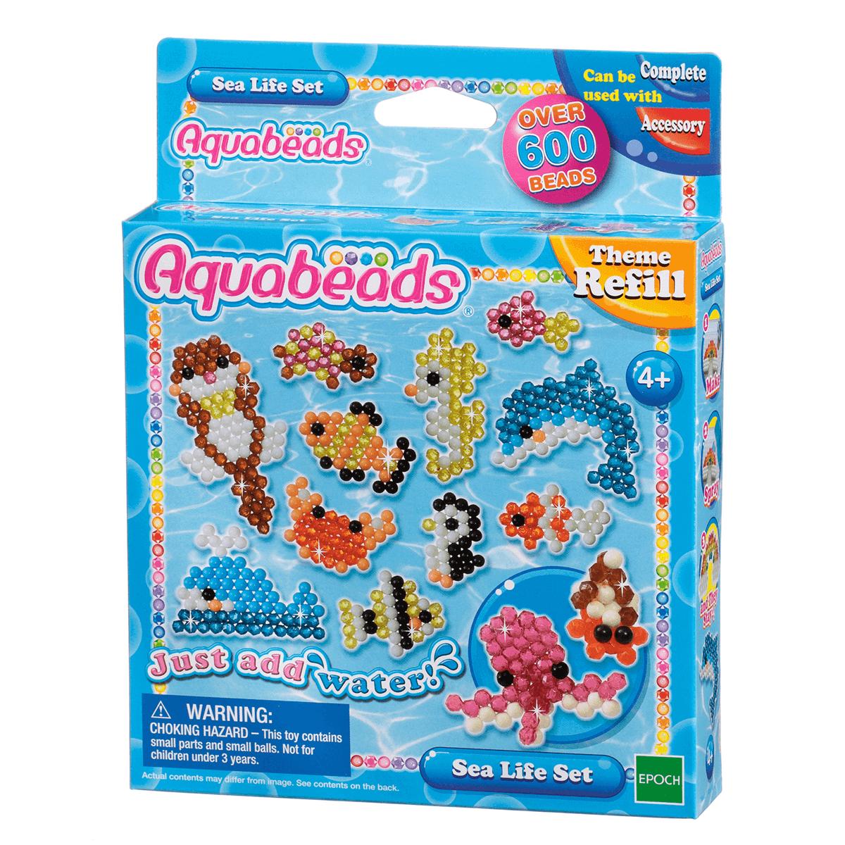 Aquabeads Sea Life Set Kids Fun Party Toy NEW