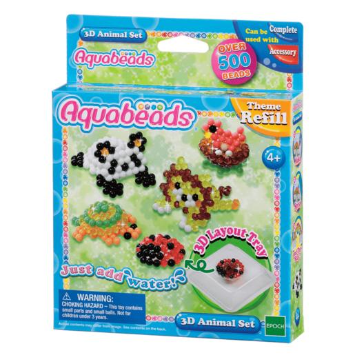 Aquabeads 3D Animal Set