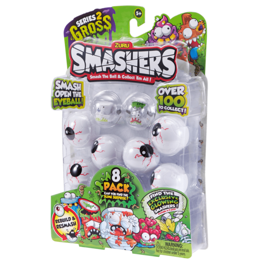 Smashers Series 2 - 8 Pack