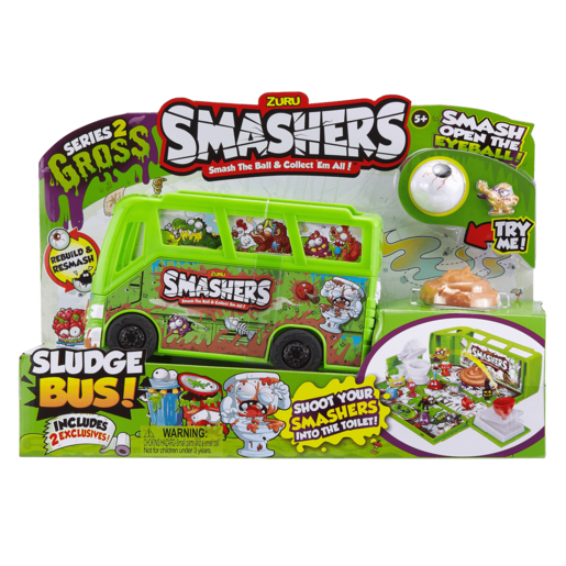 Smashers Series 2 - Sludge Bus