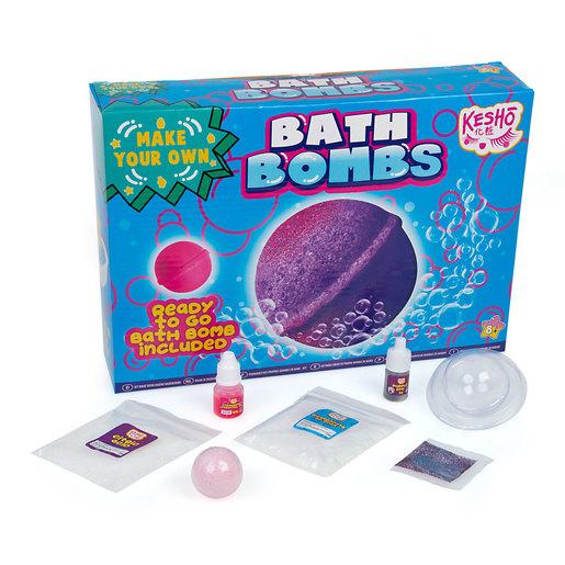 Kesho Make Your Own Bath Bomb Kit