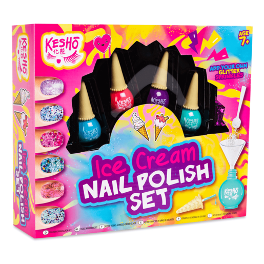 Kesho Ice Cream Nail Polish Set