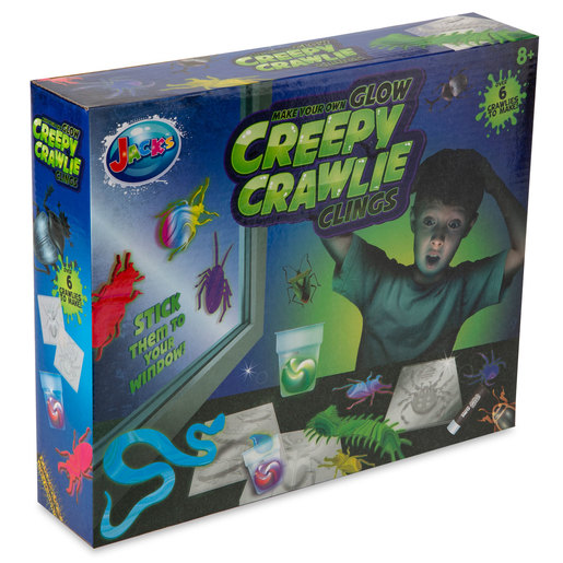 Jack's Make Your Own Glow Creepy Crawlie Clings